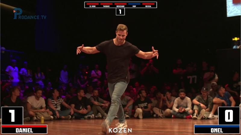 Daniel vs Onel | TOP 8 | UNDISPUTED X I.B.E 2018 | Danceproject.info