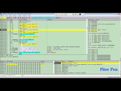 Взлом программ в OllyDbg Lesson4