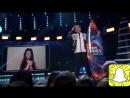 Луи Томлинсон на сцене «Teen Choice Awards 2018» получает свою награду «Мужской исполнитель»