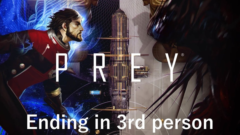 Prey's ending cutscene but it's in third person (spoilers)