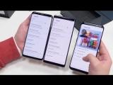 Распаковка Samsung Galaxy S9 для России рядом с S8 , Note 8 и Pixel 2 XL. Обзор и сравнения в пути!