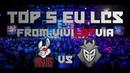 Top 5 EU LCS 2018 Summer Split   Неделя 4 День 1 Лига Легенд   League of Legends от Виви
