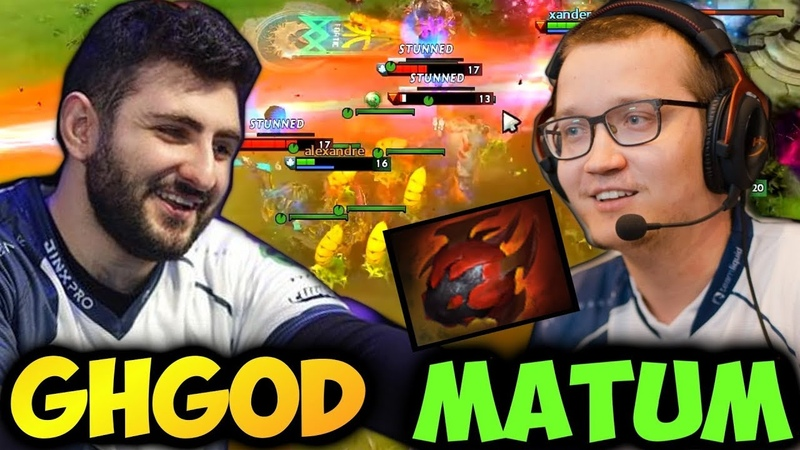 Matumbaman vs GH-GOD before TI8 | Cancerous Venomancer with Heart of Tarrasque