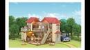 Игровой набор Большой новый дом со светом sylvanian families house