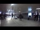 Выступление музыкантов в подземном переходе №1