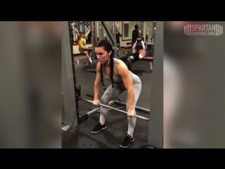Kryss DeSandre workout 2 _ Spartan Bodybuilding