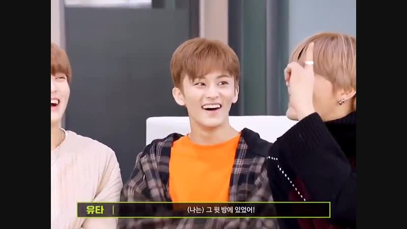 Haechan's TMI : i lay down in the cramped bed to bother mark hyung