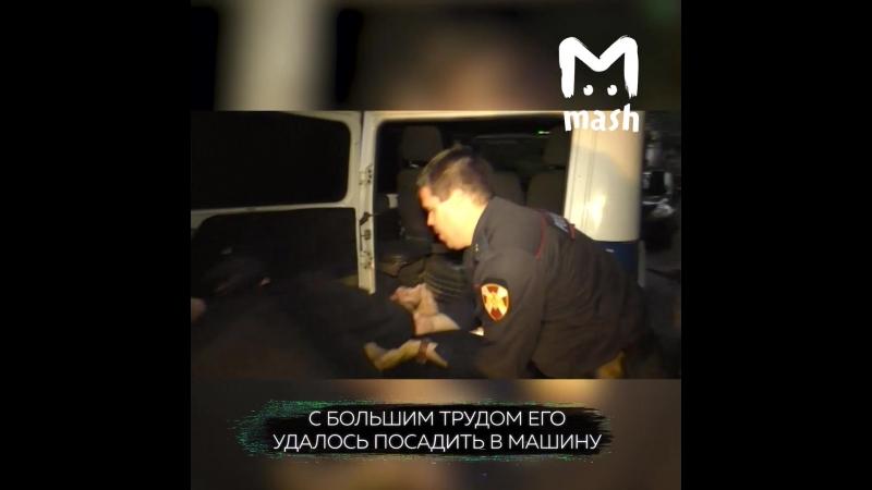 В Кирове мужчина напал на сотрудников Росгвардии