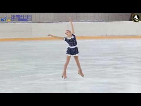 Алёна КРИВОНОСОВА (2010) 1-Ю Турнир на призы ЗТ СССР и России В.Н. Кудрявцева
