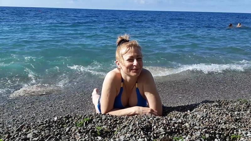 Первый день на пляже (очень не просто было после обалденного гостеприимства)