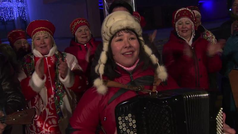 Анна Плотникова и ансамбль Частушка Уходишь уходи