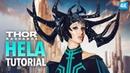 Hela headpiece costume cosplay tutorial