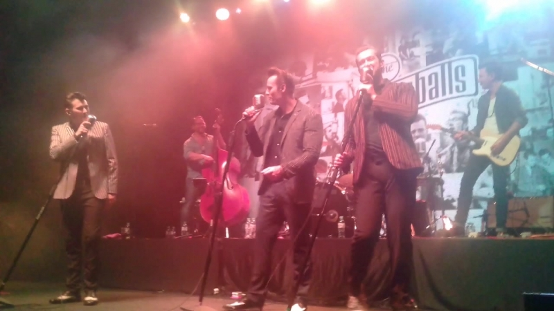 The Baseballs - I Believe I Can Fly (R. Kelly cover)