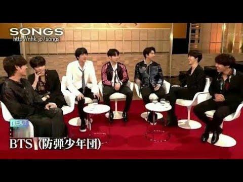 [방탄소년단-BTS] 180428 NHK Songs Japan Show DNA 미리보기 대회 사카구치 켄타로 . 防弾少年团