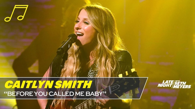 Caitlyn Smith - Before You Called Me Baby (Late Night with Seth Meyers)