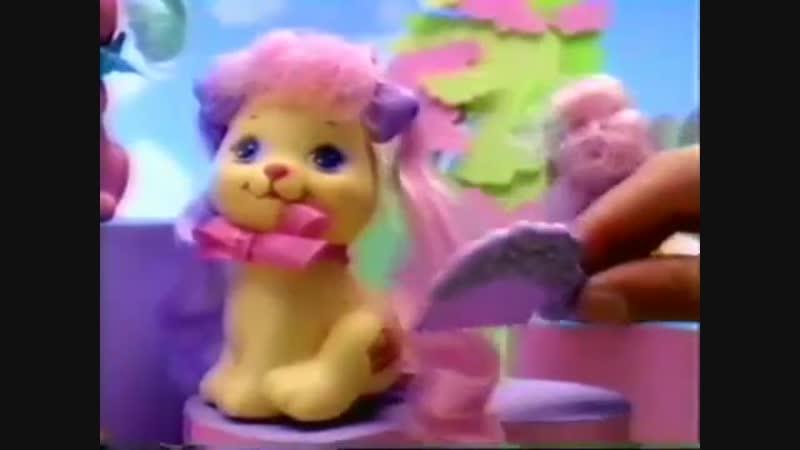 Mattel 1990 Little pretty pets