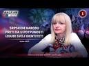 INTERVJU Vesna Pešić Srpskom narodu preti da u potpunosti izgubi svoj identitet 21 07 2018