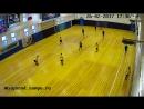 9-ый матч Антарес-Энергия 2-ой тайм 2-ой гол Андрюхи С. 26.02.17 (итог игры 4-5)
