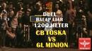 LAGA BALAP 1200Meter CB TOSKA VS GL MINION