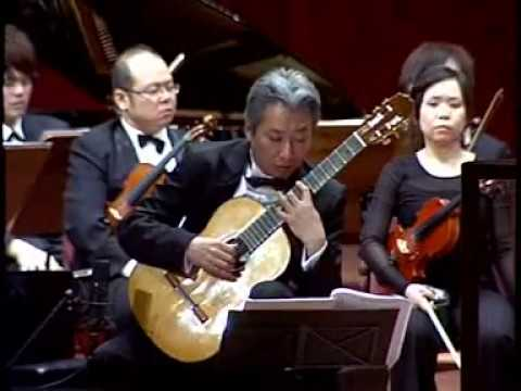 SHIN-ICHI FUKUDA plays Concerto da Requiem(1st Mov) by Leo Brouwer, dedicated to S.Fukuda 2005