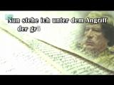 Das politische Testament Muammar al-Gaddafis