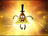 Gravity Falls Dipper and Bill Cipher Drawing