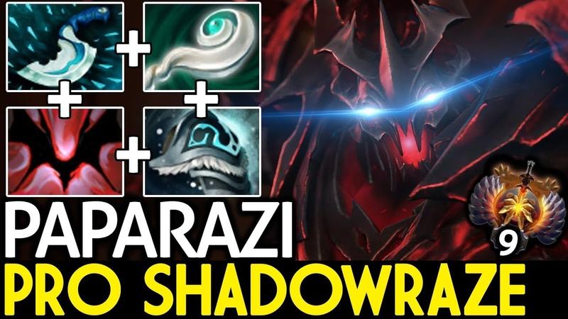 Paparazi [Shadow Fiend] Pro Shadowraze Magic Build 7.19 Dota 2