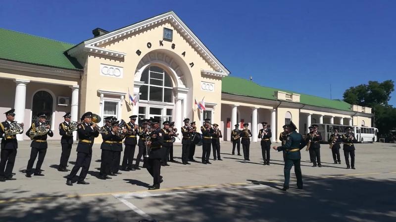 Военный оркестр гарнизона Феодосии