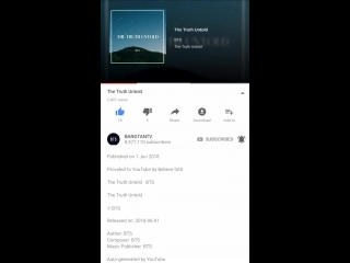 Bangtantv has an english version of the truth untold uploaded on youtube that is sung by s.mp4