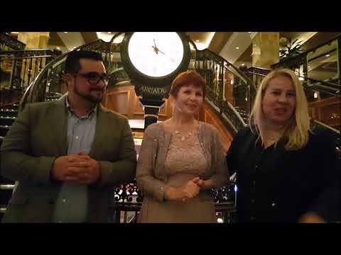 InCruises! Эксклюзивное интервью! Ольга Ра, Джонатан и Стефания Диаз!