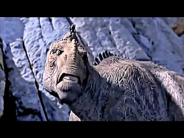 DINOSAUR (2000) Scene Carnotaur BattleKrons Death.