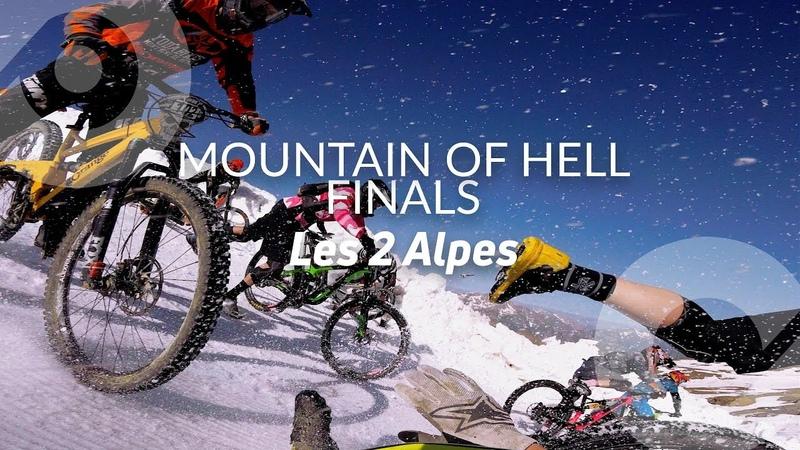 MOUNTAIN OF HELL 2018 FINALS - FULL RUN (40/ 700) Léo Remonnay, mass start race, Les 2 Alpes, France