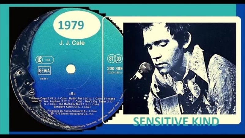 J.J. Cale - Sensitive Kind Vinyl