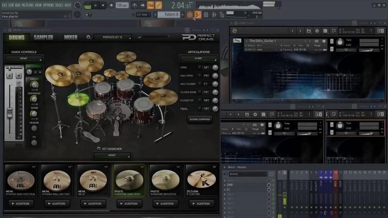 Solemn Tones The Odin Metalcore Example (FL Studio 20)
