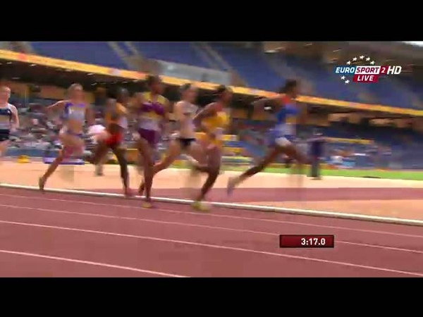 1500m Women IAAF Continental Cup Marrakech 2014