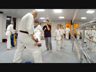 Совместная тренировка Клуба «Тэнгу Про» Подготовка бойца. Мурманск https://vk.com/oyama_mas