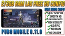PUBG Mobile 0.11.0 Lag Fix In 2Gb Ram phone | Smooth Hd Graphics 60Fps