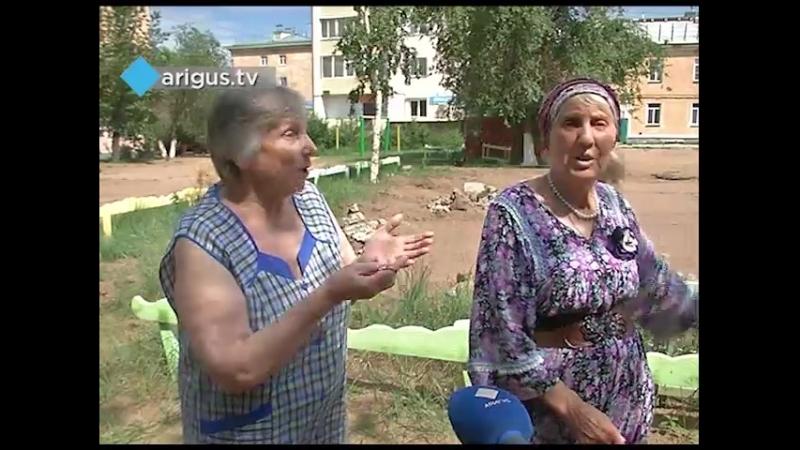 Они тут себе шеи сворачивают Юные улан удэнцы ждут ремонта детской площадки