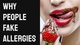 Why Millions of People Are Faking Food Allergies Почему миллионы людей симулируют пищевые аллергии Глютен Целиакия Веганизм