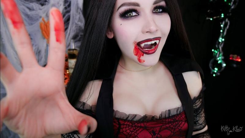 АСМР 🧛 Вампир на вечеринке 💋 ASMR Vampire at a party 👻🦇