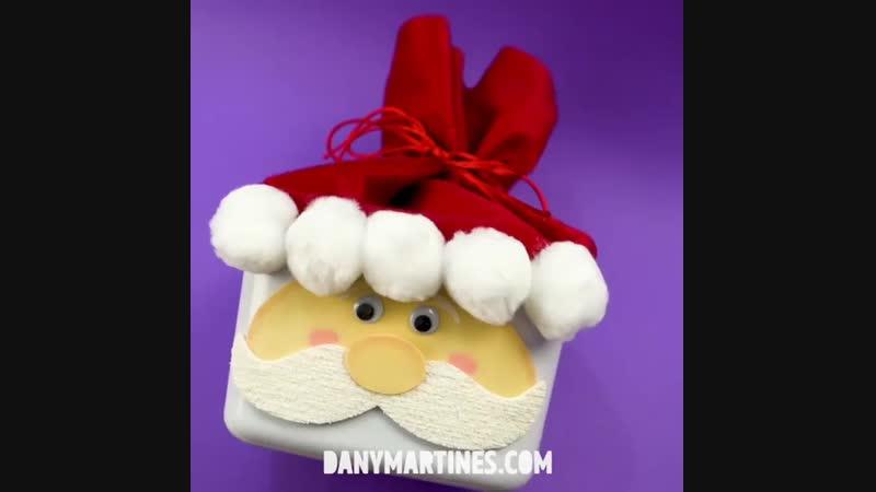 Новогодняя коробочка для подарков