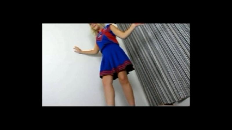 Whitney Morgan Bratty Cheerleader Trample