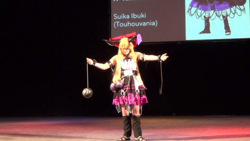 Косплеер Энма - Suika Ibuki (Touhouvania)