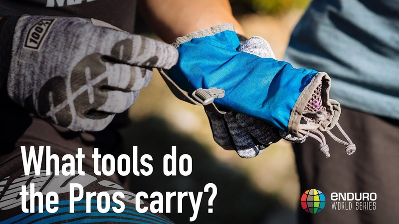 What tools do MTB pros carry?