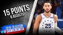 Ben Simmons Full Highlights 2019.03.10 76ers vs Pacers - 15 Pts, 6 Assists! | FreeDawkins