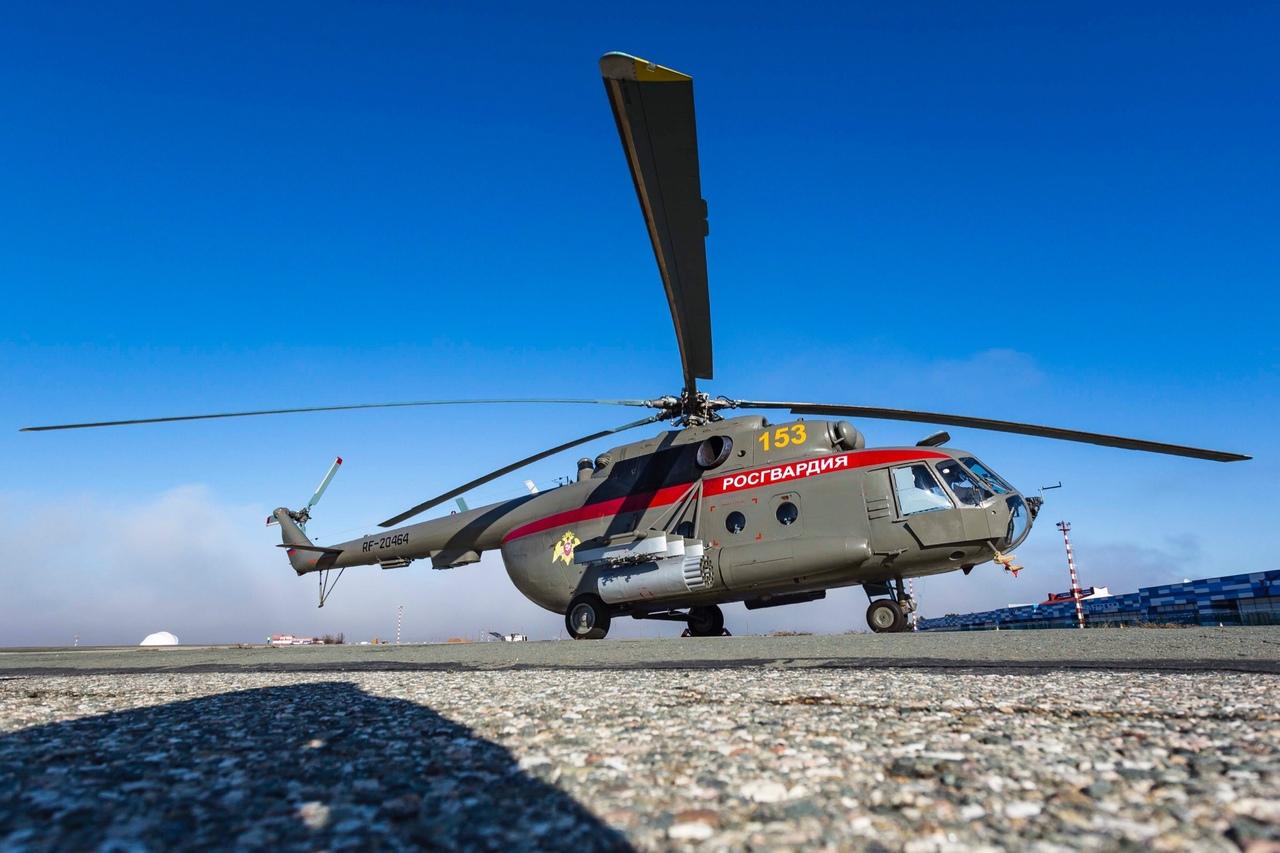 Модернизированные вертолеты Росгвардии начали базироваться в аэропорту Симферополь