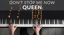 Queen Don't Stop Me Now Francesco Parrino Piano Cover Tutorial