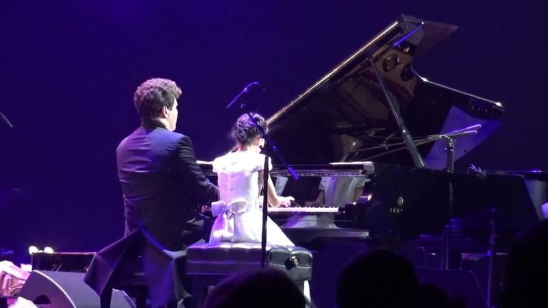 S. Rachmaninoff Polka Italienne, Denis Matsuev and Alexandra Dovgan, 01.10.2018