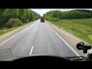 Граница Владимирской области с Рязанской. Почувствуйте, что говорится, разницу.