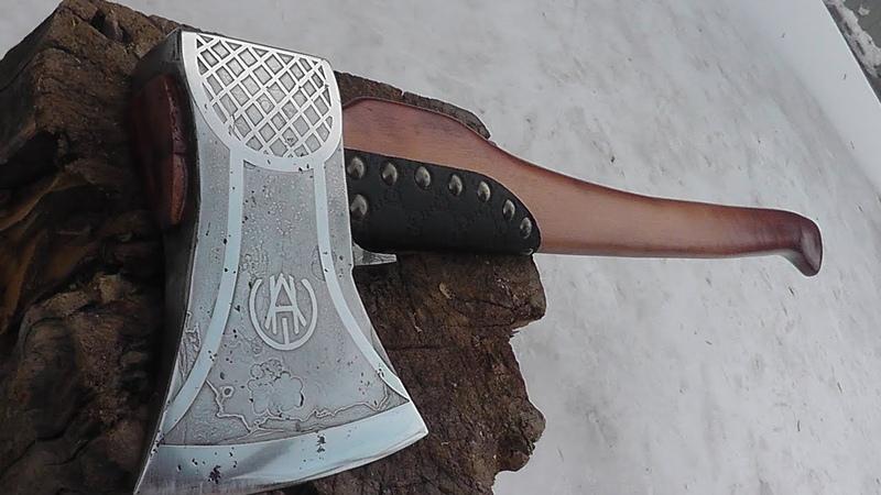 Реставрация древнего топора Таежный топор своими руками